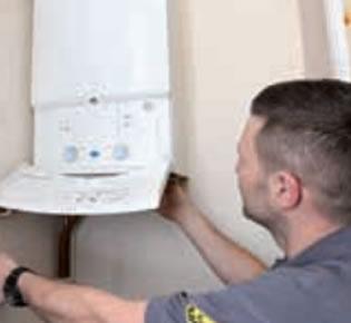 Testing New Worcester Boiler